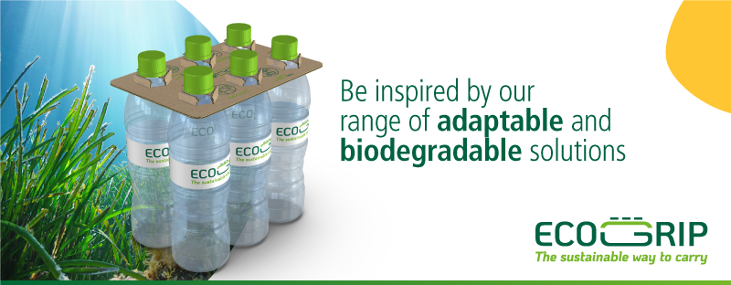 Sustainable packaging – ECOGRIP the corrugated alternative to plastic shrink wrap